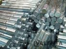 Zinc-plated studs made of steel 42CrMo4-QT with rolled thread at both ends